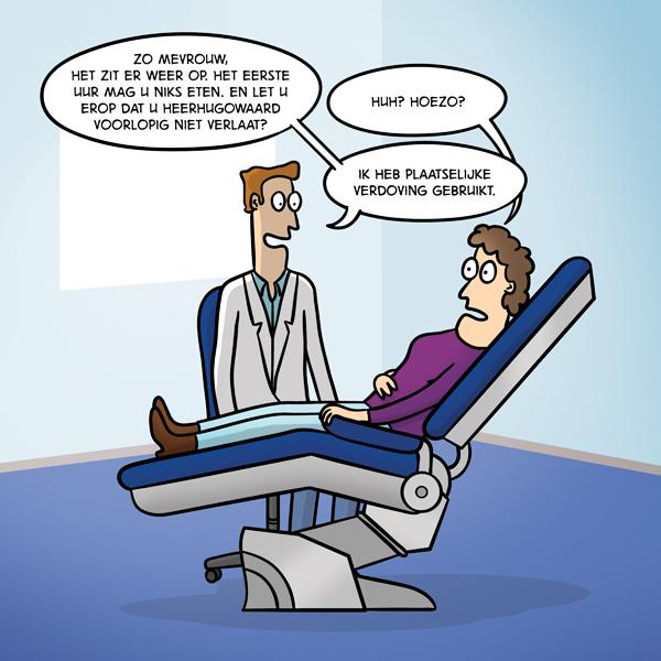 Plaatselijke verdoving