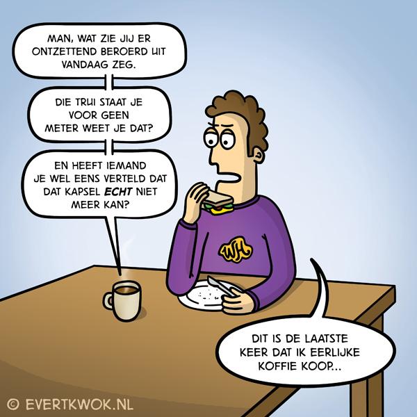 Eerlijke koffie
